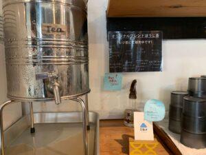 沖縄そばエイブンのお茶