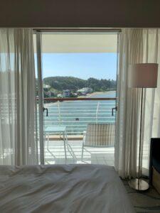 ルネッサンス・オキナワ・リゾートのデラックスツインの部屋からの眺めです。